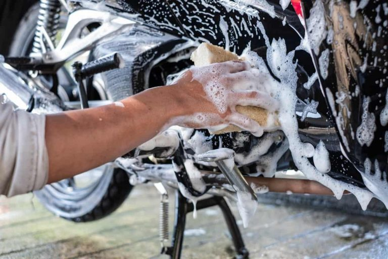 How to Clean a Motorcycle Engine - motorgearlab.com